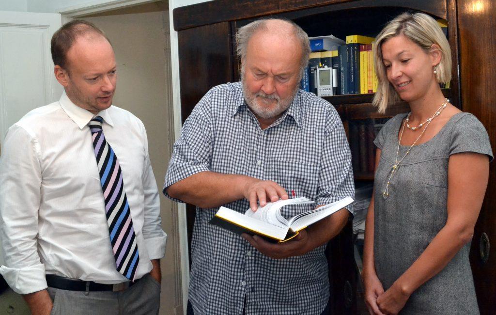 dr.ifj Arszin Miklós, id. Arszin Miklós, és dr. Arszin Csilla .